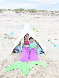 Mermaid Blankie Tails
